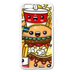 Cute Food Wallpaper Picture Apple Iphone 6 Plus/6s Plus Enamel White Case