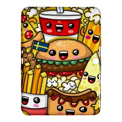 Cute Food Wallpaper Picture Samsung Galaxy Tab 4 (10.1 ) Hardshell Case