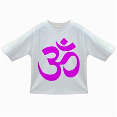 Hindu Om Symbol (Magenta) Infant/Toddler T-Shirts