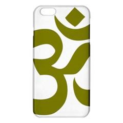 Hindi Om Symbol (Olive) iPhone 6 Plus/6S Plus TPU Case