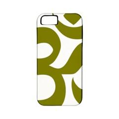 Hindu Om Symbol (Olive) Apple iPhone 5 Classic Hardshell Case (PC+Silicone)
