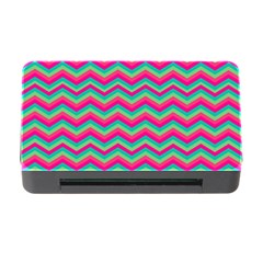 Retro Pattern Zig Zag Memory Card Reader With Cf