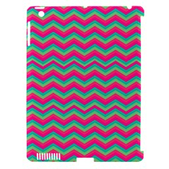 Retro Pattern Zig Zag Apple Ipad 3/4 Hardshell Case (compatible With Smart Cover)