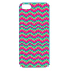 Retro Pattern Zig Zag Apple Seamless Iphone 5 Case (color)