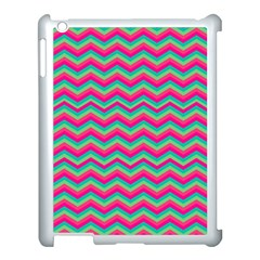 Retro Pattern Zig Zag Apple Ipad 3/4 Case (white)