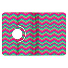 Retro Pattern Zig Zag Kindle Fire Hdx Flip 360 Case