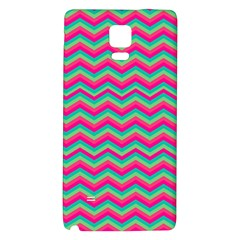 Retro Pattern Zig Zag Galaxy Note 4 Back Case