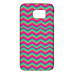 Retro Pattern Zig Zag Galaxy S6