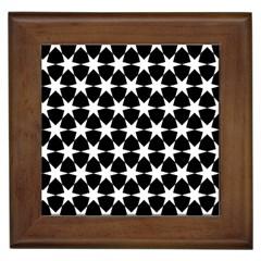 Star Egypt Pattern Framed Tiles