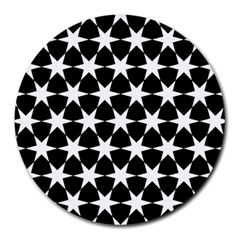 Star Egypt Pattern Round Mousepads