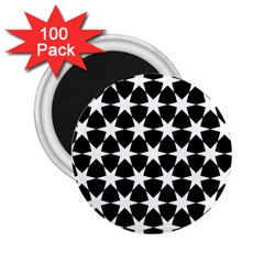 Star Egypt Pattern 2 25  Magnets (100 Pack)