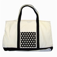 Star Egypt Pattern Two Tone Tote Bag