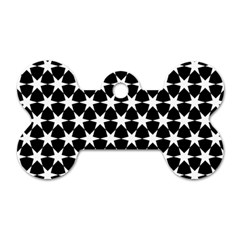 Star Egypt Pattern Dog Tag Bone (two Sides)