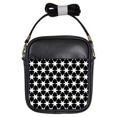 Star Egypt Pattern Girls Sling Bags