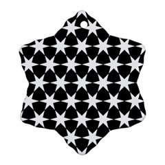 Star Egypt Pattern Snowflake Ornament (Two Sides)