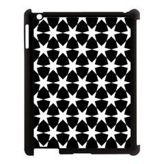 Star Egypt Pattern Apple Ipad 3/4 Case (black)