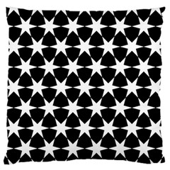 Star Egypt Pattern Large Flano Cushion Case (two Sides)