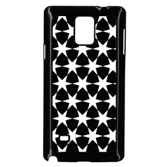 Star Egypt Pattern Samsung Galaxy Note 4 Case (Black)