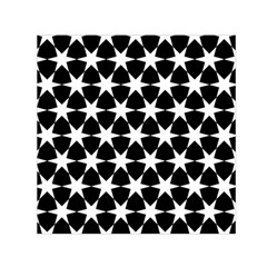 Star Egypt Pattern Small Satin Scarf (Square)