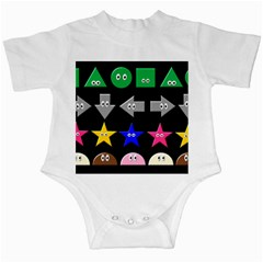 Cute Symbol Infant Creepers