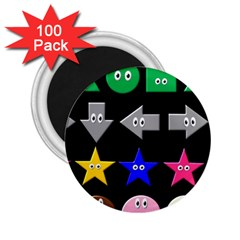 Cute Symbol 2 25  Magnets (100 Pack)