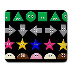 Cute Symbol Large Mousepads