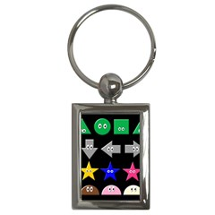 Cute Symbol Key Chains (rectangle)