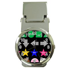Cute Symbol Money Clip Watches
