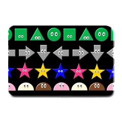 Cute Symbol Plate Mats