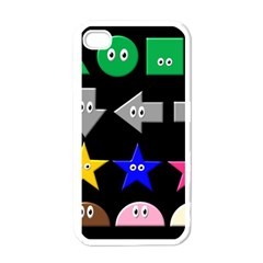 Cute Symbol Apple Iphone 4 Case (white)
