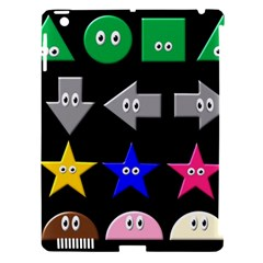 Cute Symbol Apple Ipad 3/4 Hardshell Case (compatible With Smart Cover)