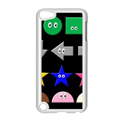 Cute Symbol Apple Ipod Touch 5 Case (white)