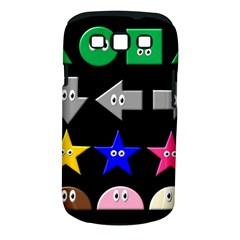 Cute Symbol Samsung Galaxy S III Classic Hardshell Case (PC+Silicone)