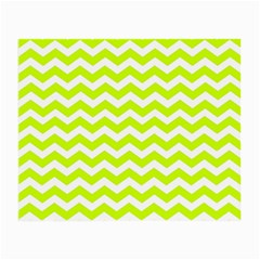 Chevron Background Patterns Small Glasses Cloth (2-Side)