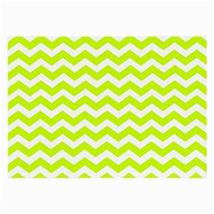 Chevron Background Patterns Large Glasses Cloth (2-Side)