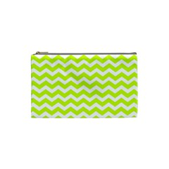 Chevron Background Patterns Cosmetic Bag (small)