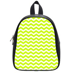 Chevron Background Patterns School Bags (small)