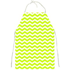 Chevron Background Patterns Full Print Aprons