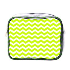 Chevron Background Patterns Mini Toiletries Bags