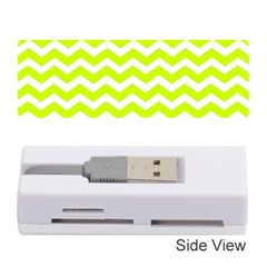 Chevron Background Patterns Memory Card Reader (Stick)