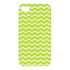 Chevron Background Patterns Apple Iphone 4/4s Premium Hardshell Case