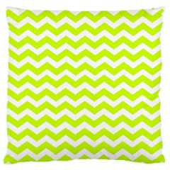 Chevron Background Patterns Large Cushion Case (Two Sides)