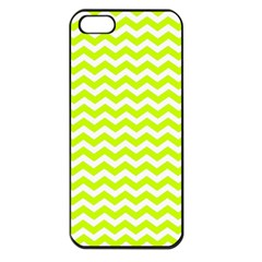 Chevron Background Patterns Apple iPhone 5 Seamless Case (Black)