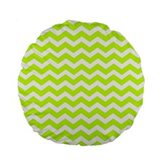 Chevron Background Patterns Standard 15  Premium Round Cushions