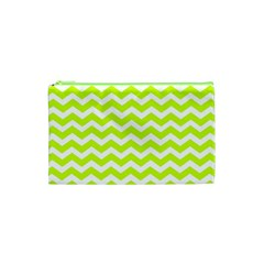 Chevron Background Patterns Cosmetic Bag (XS)