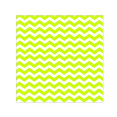 Chevron Background Patterns Small Satin Scarf (square)