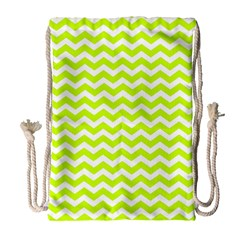 Chevron Background Patterns Drawstring Bag (large)