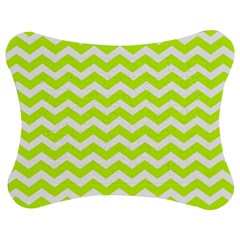 Chevron Background Patterns Jigsaw Puzzle Photo Stand (Bow)