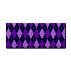 Static Argyle Pattern Blue Purple Cosmetic Storage Cases