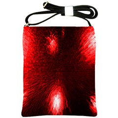 Box Lights Red Plaid Shoulder Sling Bags